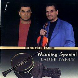 Арут Хачоян и Ерванд Wedding Special DANCE PARTU 2002